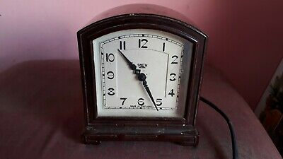 Vintage  Smiths Sectric Alarm Clock Bakelite Case: electric, Great condition