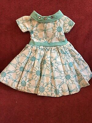 ideal hollis doll outfit dress vintage and very rare