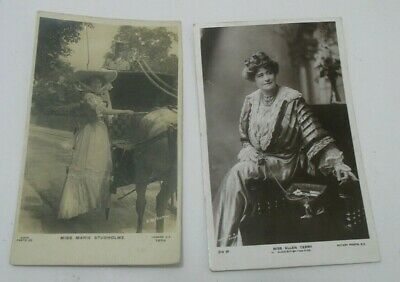Vintage Photograph Style Picture Post Cards Victorian Actress's. 1 Posted 1905
