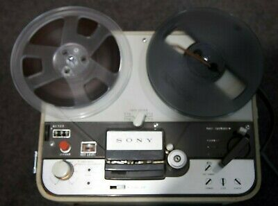 SONY  tapecorder  TC-102A  vintage reel-to-reel tape deck Made in Japan