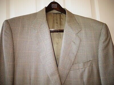 Canali Wool/Silk Blend Men's Sport Coat Jacket Us 44 S It 54 C 7 Made In Italy