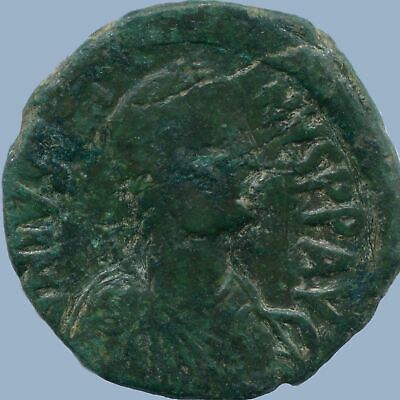 JUSTIN I Æ FOLLIS CONSTANTINOPLE 518-527 15.4 g/31.56 mm ANC13711.16