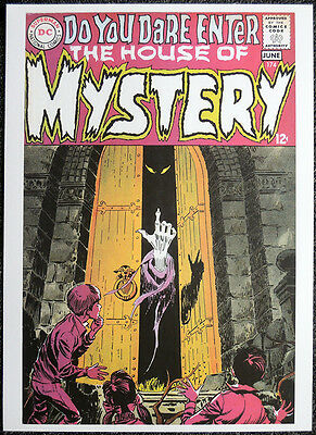 The House Of Mystery Repro Poster . Joe Orlando 1968 Front Cover . Dc Comics D47