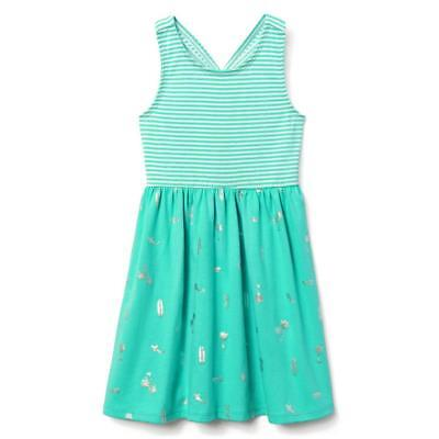 NWT Gymboree Jump into Summer Surf Teal Dress Girls many sizes