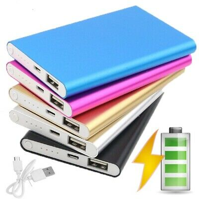 4000MAH SLIM POWER Bank Portable USB Battery Charger IPhone