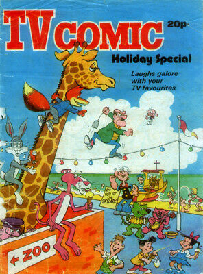 Tv Comic Holiday Special 1975 . Includes 3 Page Doctor Who Photo Story