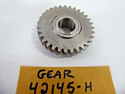Gear 42145-H Shaft Gear Helical Cut 120314-0836