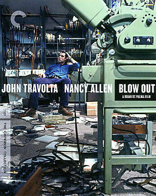 Blow Out (Blu-ray Disc, 1981, Criterion Collection)