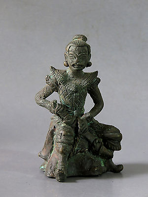 Beautiful & Rare Antique Bronze Warrior Statue Cheap Price Don't Miss