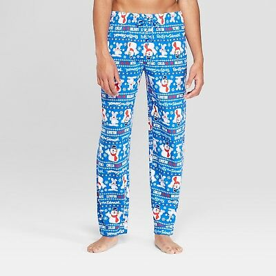 BRIEFLY STATED Frosty The Snowman Men's Pajama Pants - Chillin For the Holidays