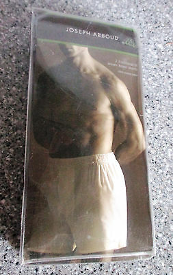 JOSEPH ABBOUD~Traditional Fit~WOVEN COTTON BOXER SHORTS~Lot of 2~Mens 2XL~NWT