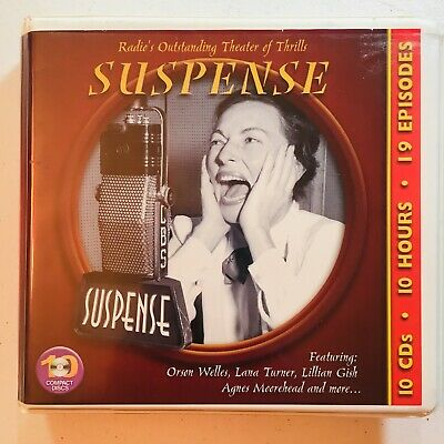 Radio Spirits: Suspense - Final Curtain (2013, 10 CDs, 19 Episodes) Orson Welles