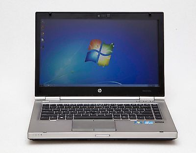"HP EliteBook 8470p 14"" Core i5-3320M 2.6GHz 8GB 500GB 1600x900 Win 7 Pro Laptop"