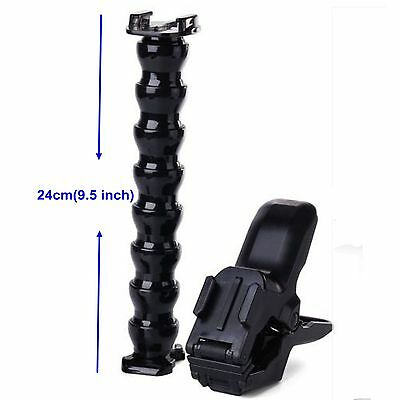 Jaws Flex Clamp Mount For All Gopro Hero 4 3 2 1 Camera Accessories JW02