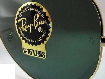 Coppia lenti originali Ray Ban Aviator ITA vetro temperato RB 3025