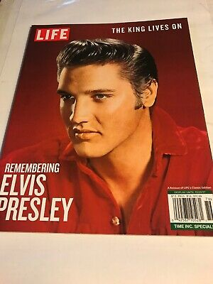 Life Magazine-The King Lives On-Remembering Elvispresley-Oct. 20,2017-Or 2/12.00