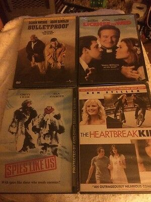 Lot Of 4 Comedy DVDs - New And Sealed