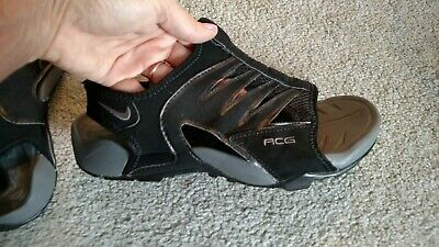 wholesale dealer 6a83c 0e3c6 Nike ACG Mens Size 7 Shoes Black and Gray Water Sport Sandals Hiking Camping