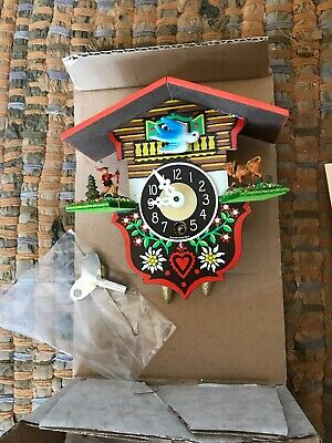 antique german cuckoo clock