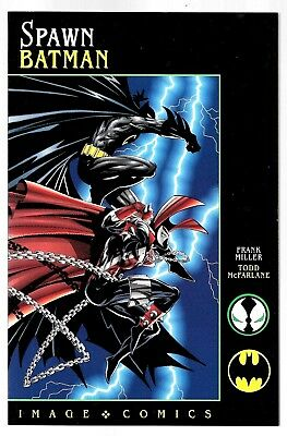 SPAWN BATMAN FRANK MILLER TODD MCFARLANE IMAGE COMICS - MINT Condition