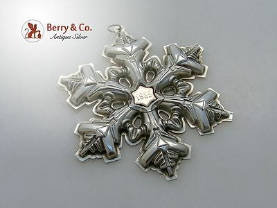 Gorham Christmas Ornament Sterling Silver 1985