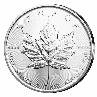 Maple Leaf Argent 1 Once 2019 Canada