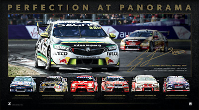 Craig Lowndes – Perfection At Panorama – Unframed - Official Triple Eight Racing
