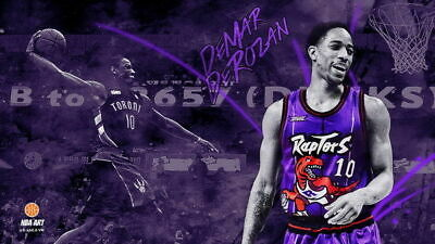 159624 DeMar DeRozan TORONTO RAPTORS Basketball NBA Decor Wall Poster Print AU