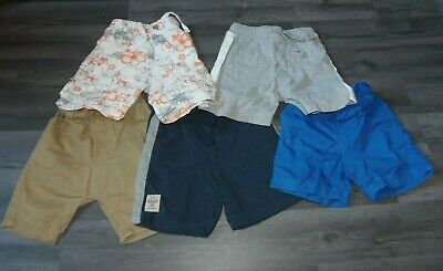 5 pairs of boys shorts Age 12-18 month Next Mothercare