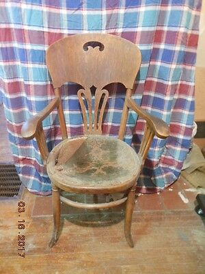 Antique oak chair. PLEASE READ ENTIRE DESCRIPTION.