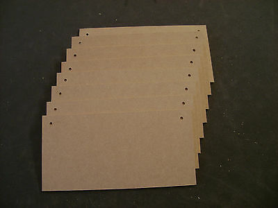 """signs 19 Blank 8 x 4/"""" High Quality 6mm MEDITE MDF Blank wooden plaques"""