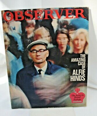 OBSERVER MAGAZINE 9 October 1966 THE AMAZING CASE OF ALFIE HINDS