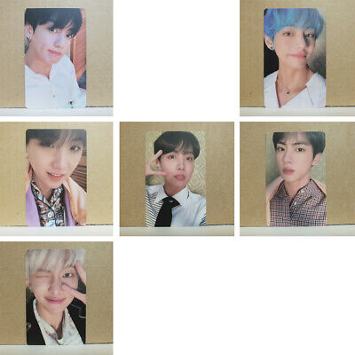 BTS Persona BTS Map Of The Soul Album Ver.3 Photocard Select Option