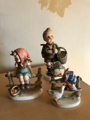 hummel figur alte 3 stuck N-51,N-112,N-195 2/0 in TOP zustand.