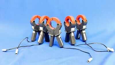 Reliable Power Meters Fluke 3100 1000A Current Transformer CT Set of 5 Untested