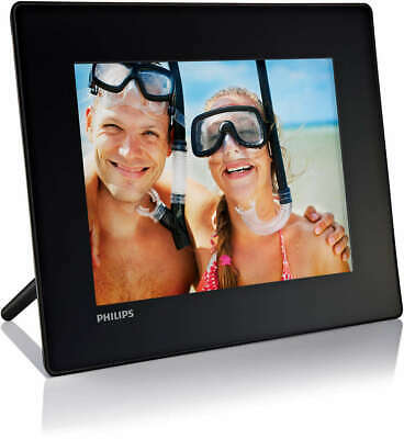 Cornice digitale Philips Photo Frame SPF4008/10 nera 8""