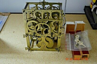 ANTIQUE Wide CUCKOO CLOCK MOVEMENT from Shelf/Mantle Cuckoo Clock