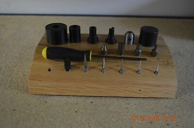 Bergeon Bushing Accessories with 17 Tools set ONLY for project