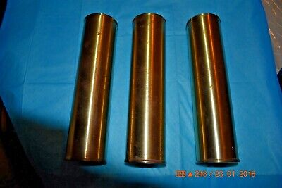 Colonial GRANDFATHER CLOCK WEIGHTS for Jauch 5 tube movement SET OF 3
