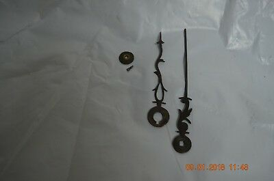 Antique Grandfather Clock Hands for parts or project