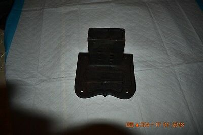 ANTIQUE GRANDFATHER CLOCK CHIME ROD BLOCK set of 1 for project