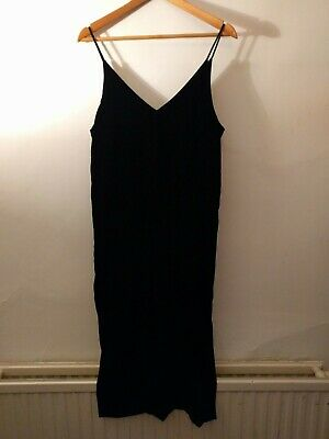 27707f48a69a Other Stories black velvet camisole spaghetti strap camisole dress