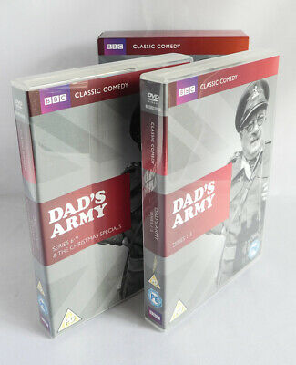 DAD'S ARMY The Complete Collection Classic Comedy BBC Series 1 - 9 DVD Box Set