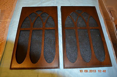 Side Access Wood Panels for Older style GRANDFATHER CLOCK Set of 2 for project