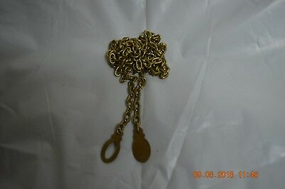 Grandfather Clock chain for Jauch 77 movement  for parts or project