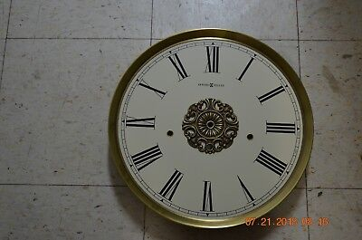 Howard Miller GRANDFATHER CLOCK DIAL for Kieninger movement for project