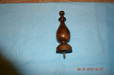 GRANDFATHER CLOCK Ridgeway TOP WOOD FINIAL set of 1 for project