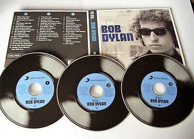 The Real Bob Dylan The Ultimate Collection 3Cd Set 2012 Columbia Made In Eu