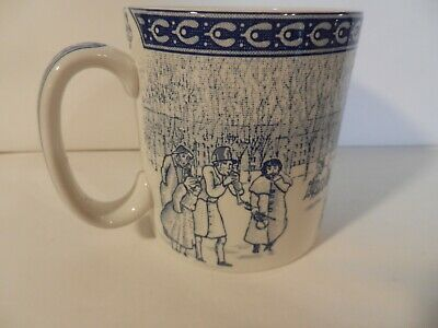 """Spode Victorian Children Mug Collection """"Snowball Games"""" Excellent Free Shipping"""