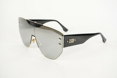 f9591019a29e CHRISTIAN DIOR GRAPHIX 1 Rhl Grey Gold Black Shield Oversized Style ...